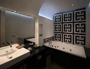best salle de bain moderne blanc et noir gallery awesome With accessoires salle de bain design noir