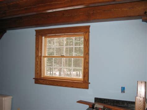 basement window casing ideas windows and drywall uneven trim install help