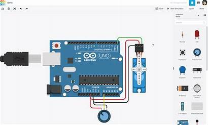 Arduino Tinkercad Circuits Circuit Software Pcb Diagram