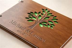 Holz Bilderrahmen Günstig : hochwertiges hochzeits g stebuch aus holz mit individueller gravur g nstig bestellen grav ~ One.caynefoto.club Haus und Dekorationen