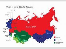 Map of USSR MuslimMajority SSRs and Regions by Nahmala