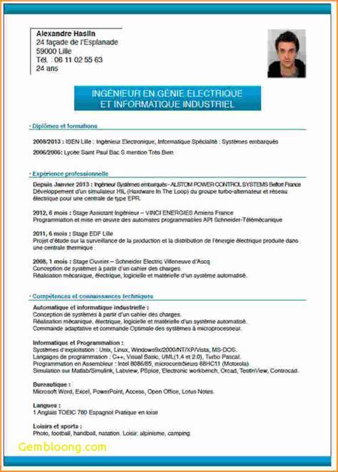 Les Modeles Des Cv by Mod 232 Le De Cv Sans Exp 233 Rience Professionnelle Gratuit Ataboxe