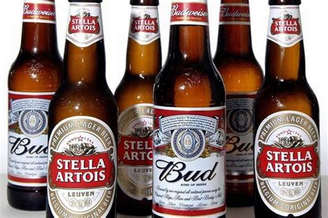 Alcohol Content Of Top Beers Budweiser, Stella Artois And