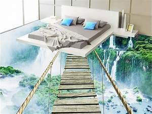 custom 3d wallpaper bedroom mural roll 3d floor self