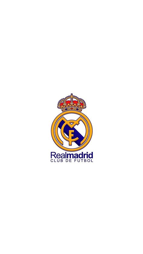 Logo Real Madrid iPhone Wallpapers - Wallpaper Cave