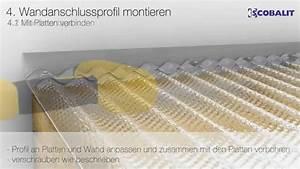 Wellplatten Verlegen Video : wellplatten acryl verlegen youtube ~ Articles-book.com Haus und Dekorationen