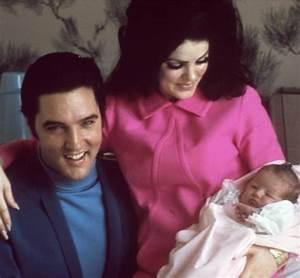 Elvis , Priscilla & Lisa Marie - Elvis & Priscilla Presley ...
