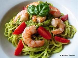Pasta Mit Garnelen : pasta freitag spaghetti mit avocado basilikum sauce garnelen und dattelkirschtomaten mario s ~ Orissabook.com Haus und Dekorationen