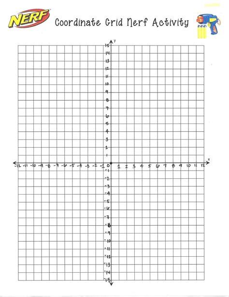 coordinate plane worksheets  grade