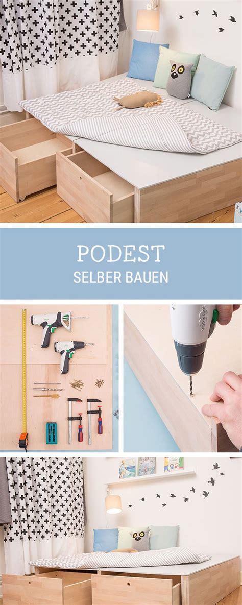 Diy Für Zuhause by Diy F 252 R Zuhause Podest Aus Holz Selbermachen How To