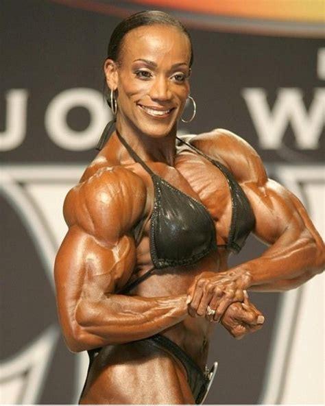 pin  black female bosybuilders