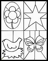 Stained Glass Printable Coloring Craft Kid Crafts Printables Makeiteasycrafts Divyajanani Leerlo Sheets sketch template