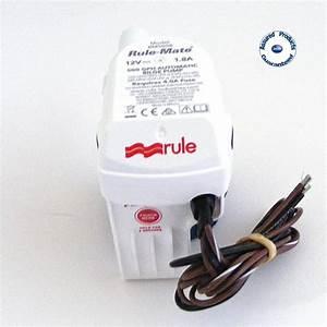 Rule 500 Bilge Pump Installation Instructions