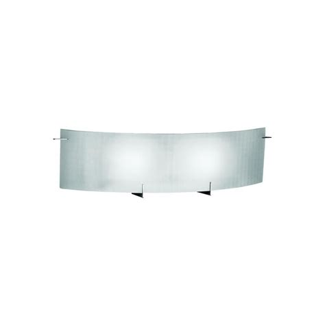 eurofase prisma collection 2 light chrome wall sconce the home depot canada