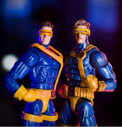 Action Figure Custom Cyclops Marvel Legends Head