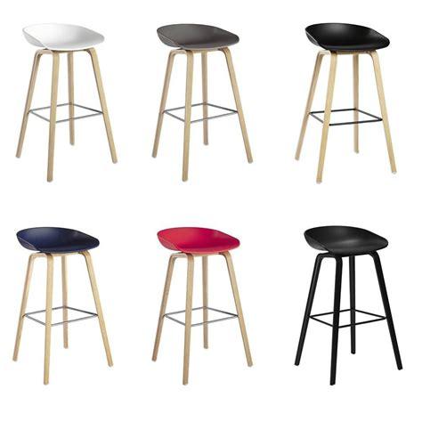 Hay Chaise De Bar by Tabouret De Bar About A Stool H 65 Cm Plastique