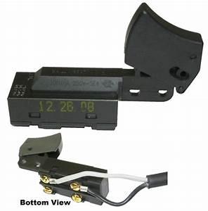 Power Tool Switch 8307k2 No Lock