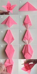 Origami Lampe Anleitung : diy paper origami lily vintage wedding corsages boutonni res basteln origami origami ~ Watch28wear.com Haus und Dekorationen