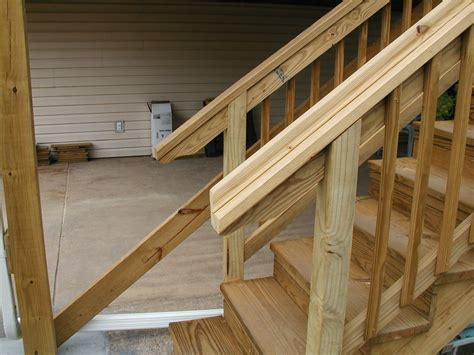 notching posts deck railing newel post attachment and notching same decks fencing