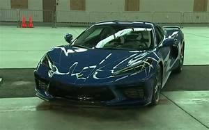 Jay Leno Shows Off Blue 2020 Corvette Stingray