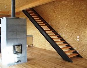 Escalier Droit Bois : fabricant d 39 escalier escalier m tal bois verre design ~ Premium-room.com Idées de Décoration
