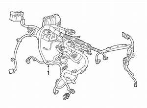 Buick Envision Engine Wiring Harness  2 0 Liter