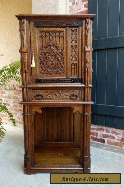 wooden kitchen cabinet antique carved tiger oak cabinet flatware 1164