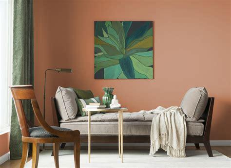 new terra cotta living rooms color glidden homes