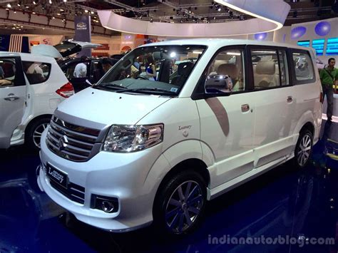 Apv Luxury by Suzuki Apv Luxury At The 2014 Indonesia International