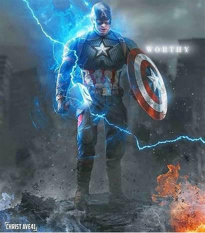 Worthy Captain America Wallpapers Marvel Avengers Christ