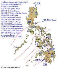Region 1 Philippines Map