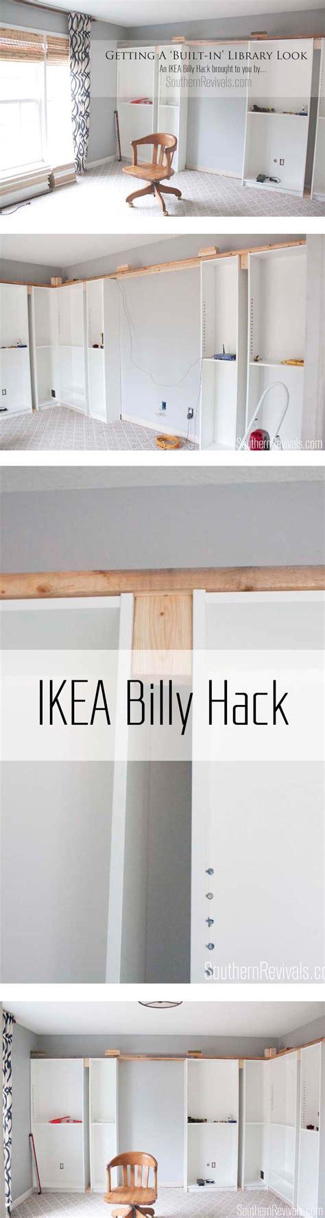 Bibliothek Möbel Ikea by Office Makeover Part 1 Building In Billy Ikea Hack Diy
