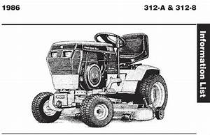 Tractor 1986 312-8 Wiring Detailed Pdf