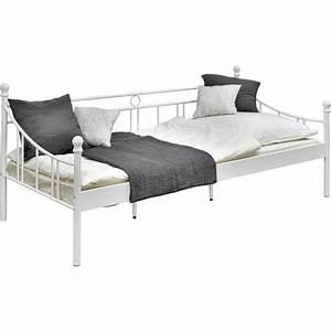 Bett Metall Weiß : bett wei 90x200cm online kaufen m max ~ Frokenaadalensverden.com Haus und Dekorationen