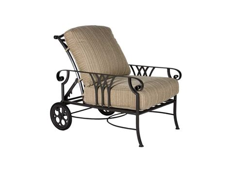 ow montrachet aluminum adjustable lounge chair with