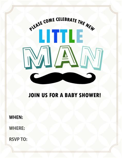 cute  baby shower invitations  print
