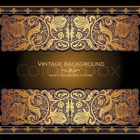 vintage background antiken stil vektorgrafik