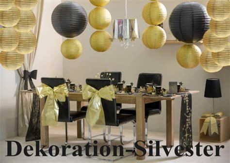 lampions dekoration silvester