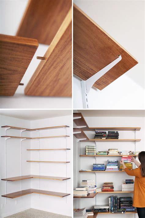 tips ideas interesting floating shelves material design
