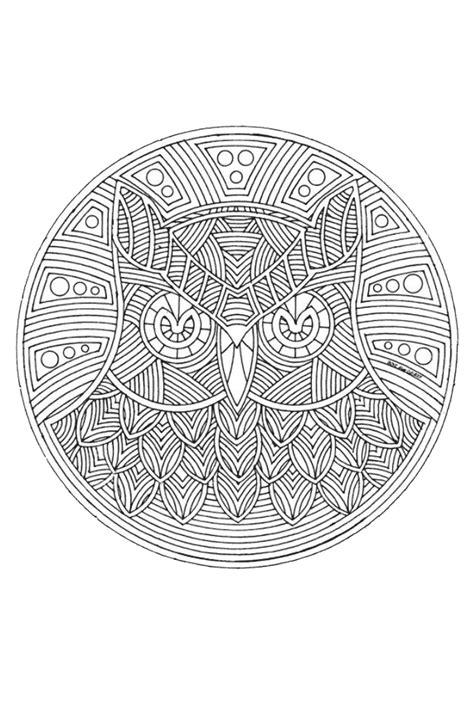 Mandala Kleurplaat Dieren by Kleurplaat Mandala Dieren 187 Animaatjes Nl