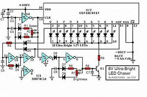 6v Ultra-bright Led Chaser