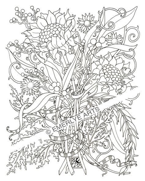 intricate coloring pages  adults    print