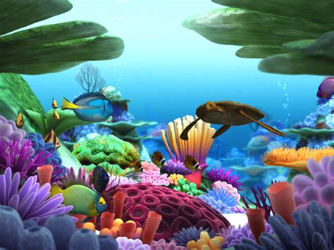 Free Underwater Life Screensaver 3d Underwater Life