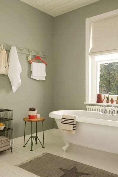 Light Green Bathrooms by Pastel Green Walls Enhance The Cottage Flavor Of A