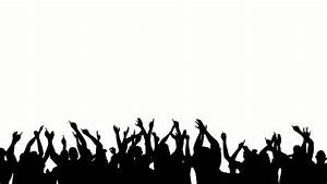 Crowd Of People Silhouette | Free download best Crowd Of ...