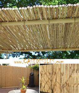 Panneau De Cloture Pas Cher : cl ture bambou r gulier panneau l1 h1m ~ Premium-room.com Idées de Décoration