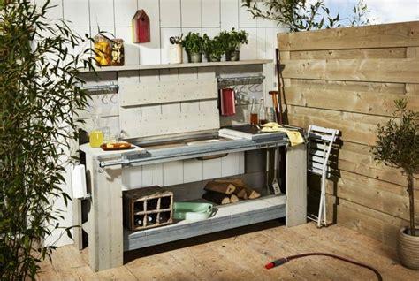 cuisine d été exterieur barbecue moderne et idées de cuisine extérieure pour l 39 été