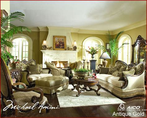 Aico Living Room Set Chateau Beauvais Ai758
