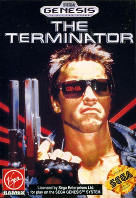 play terminator  sega genesis  play retro