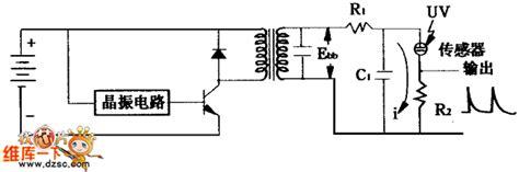 Ultraviolet Ray Sensor Drive Circuit Diagram Control